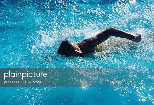 Schwimmer - p6290006 von C. A. Vogel