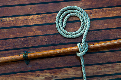 Rolled rope - p2230395 by Thomas Callsen