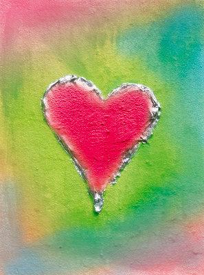 Pinkes Herz - p4500059 von Hanka Steidle