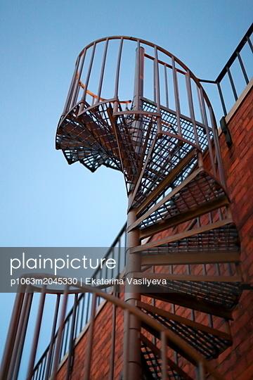 Winding staircase - p1063m2045330 by Ekaterina Vasilyeva