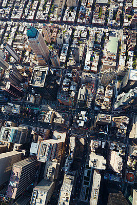 New York aus der Luft - p432m1172403 von mia takahara