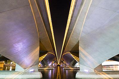 Under a bridge - p795m1461513 by Janklein