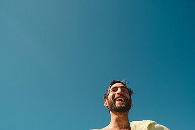 Happy man - p312m2119716 by Johner