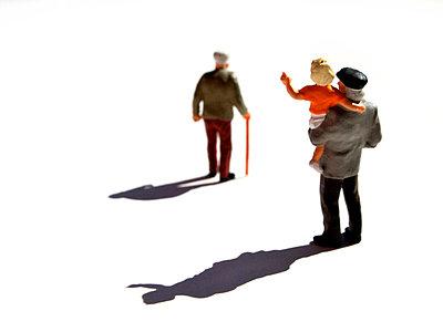 Old man walking away - p8130279 by B.Jaubert