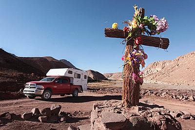 Kreuz, Machuca, Antofagasta - p1217m1146080 von Andreas Koslowski