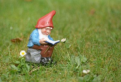 Studierender Gartenzwerg - p2490298 von Ute Mans