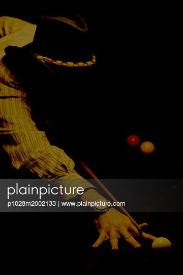 Billiard - p1028m2002133 von Jean Marmeisse