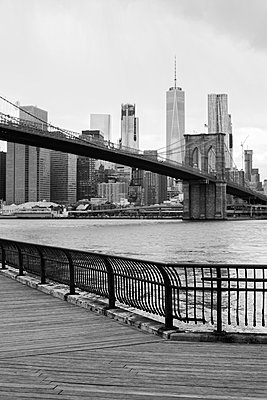 Brooklyn Bridge - p1340m1441956 von Christoph Lodewick
