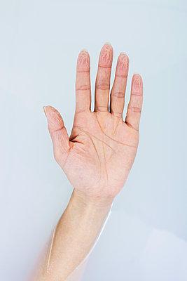 Shriveled fingers - p1670m2260389 by HANNAH