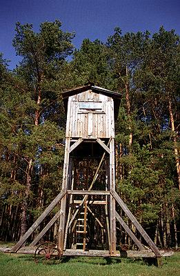Fahrbahre Jagdhütte - p0890006 von Gerd Olma