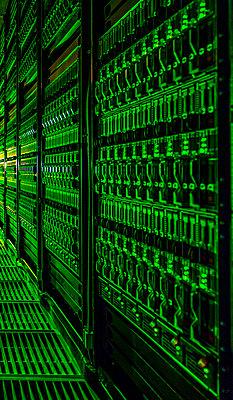Computing Center - p1166m2072037 by Cavan Images