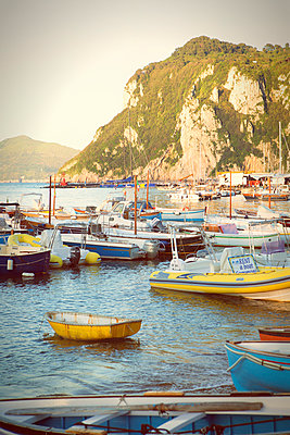 Marina Grande on Capri - p294m944501 by Paolo
