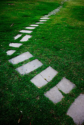 A stone path - p1072m941426 by Tal Paz-Fridman photography