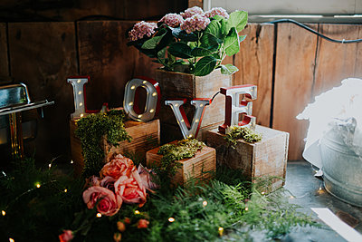 wedding day decor - p1449m1513166 by Jessica Love