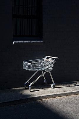 Abandoned shopping trolley - p1170m2142968 by Bjanka Kadic
