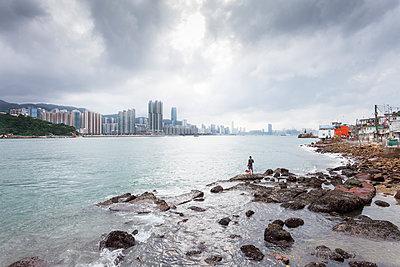 Near Ma Wan Village, Hong Kong - p1558m2132806 by Luca Casonato