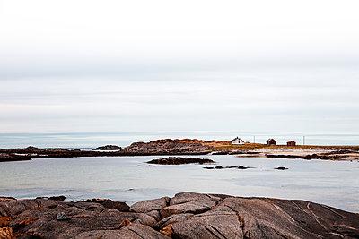Norwegen, Lofoten, Siedlung - p1168m2234005 von Thomas Günther