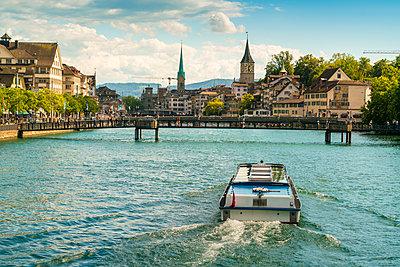 Limmat, Fraumünster, Zürich - p1332m1488453 von Tamboly