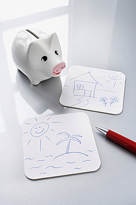 Sparen oder reisen - p4640899 von Elektrons 08