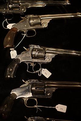 Revolvers, 19th century - p1028m2027978 von Jean Marmeisse