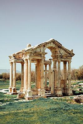Antique temple in Turkey - p382m2108751 by Anna Matzen