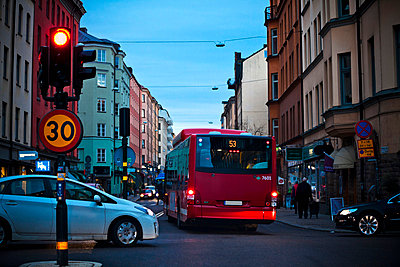 Street traffic - p528m784159 by Pernilla Hed