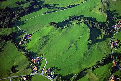 Allgäu hilly landscape - p1016m2045208 by Jochen Knobloch