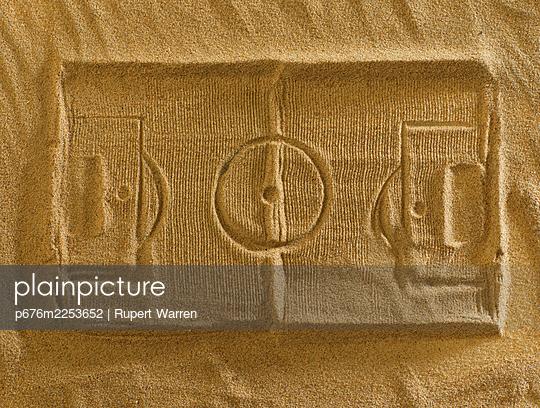 Sand court - p676m2253652 by Rupert Warren