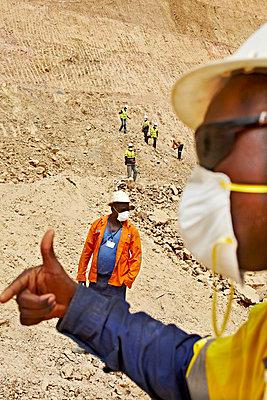 Minenarbeiter - p3900592 von Frank Herfort