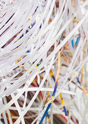 Shredded documents - p4735892f by STOCK4B-RF