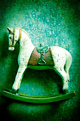 Retro rocking horse - p965m963120 by VCreative