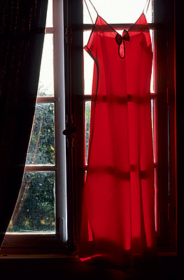 Red dress - p8700074 by Gilles Rigoulet