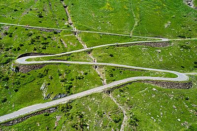 Switzerland, Canton of Glarus, Glarus Alps, Linthal, Klausen Pass - p300m2013049 by Stefan Schurr