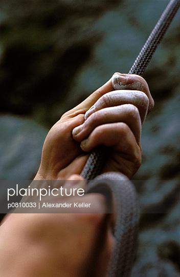 Hände am Seil - p0810033 von Alexander Keller