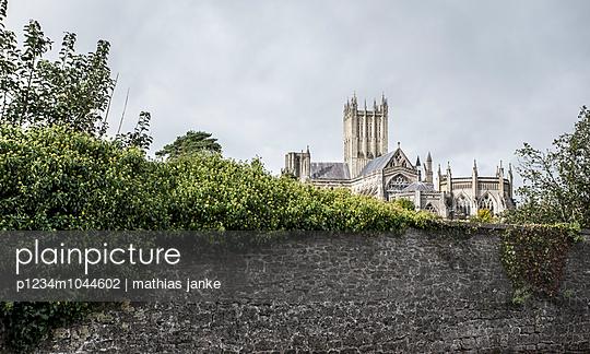 Wells Cathedral - p1234m1044602 von mathias janke