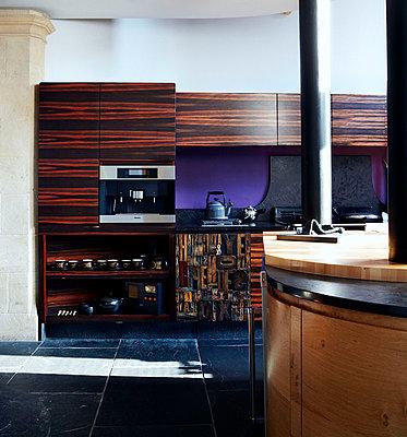 Modern kitchen conversion of Richmond school church - p349m789904 by Brent Darby
