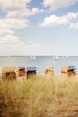 Segelboote auf der Ostsee - p946m851028 von Maren Becker