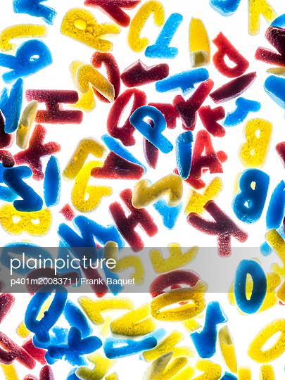 Buchstaben - p401m2008371 von Frank Baquet