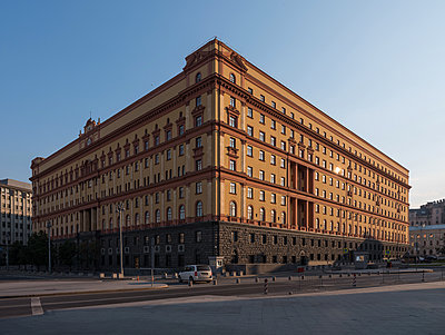 Lubjanka, former headquarters of Russia's Federal Security Service - p390m2172919 by Frank Herfort