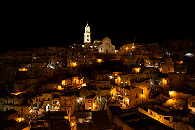 View of the town Matera - p454m2158749 by Lubitz + Dorner