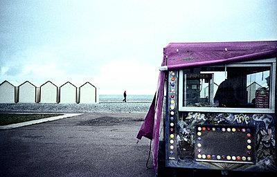 Strandszene - p9112344 von Philippe Lelièvre
