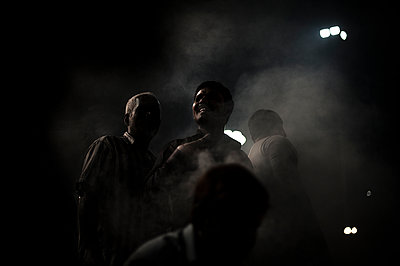 People at night - p1007m1144399 by Tilby Vattard