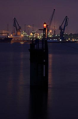Harbour in Hamburg; Germany - p1790734 by Roland Schneider