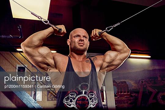 Bodybuilding - p1200m1159341 von Carsten Görling