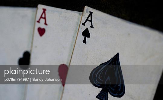 Ace of Spades - p378m794997 by Sandy Johanson