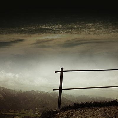 Mangfall mountain range - p1038m1573042 by BlueHouseProject