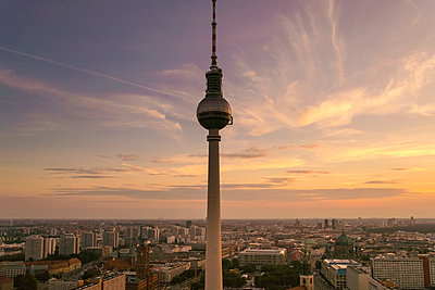 Television tower at Alexanderplatz  - p1332m1445873 by Tamboly