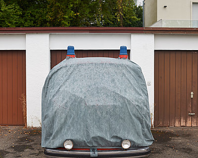 Covered fire engine - p133m2031267 by Martin Sigmund