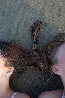 Sisters' Braid - p1636m2216228 by Raina Anderson