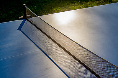 Outdoor tennis table - p813m1424599 by B.Jaubert